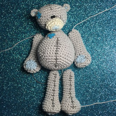 Tutorial: how to make an amigurumi bear - Dhg | 400x400