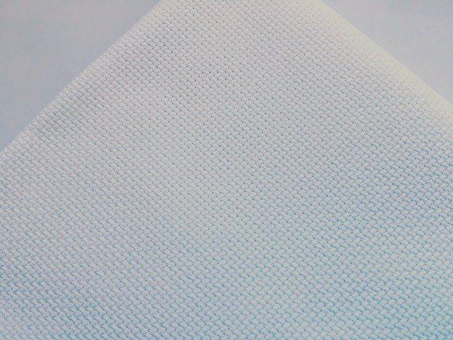 Taglio da 1 mt Tela Aida 72 Quadretti Bianco - Permin of Copenhagen