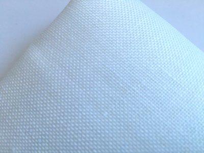 Taglio 42 x 81 cm Lino 13 fili Bianco - Permin of Copenhagen