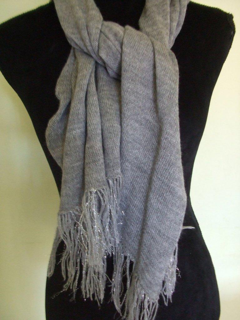 sciarpa scialle maglia lana donna