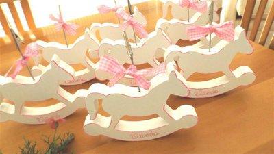 Cavallo A Dondolo Legno Bomboniera.Bomboniera Battesimo Nascita Compleanno Cavallo A Dondolo In Forex Versione Bimba Portafoto Con Personalizzazione No Fimo