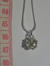 Collana con pendente argento