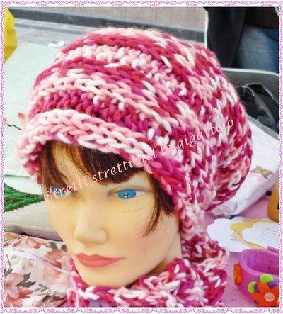 Cappello cilindrico bambina