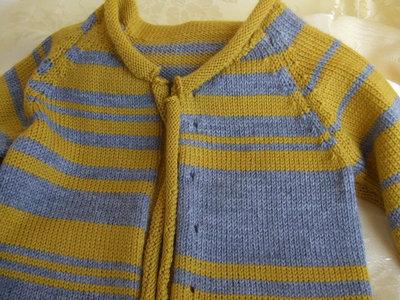 golfino+scarpine bimbi lana maglia