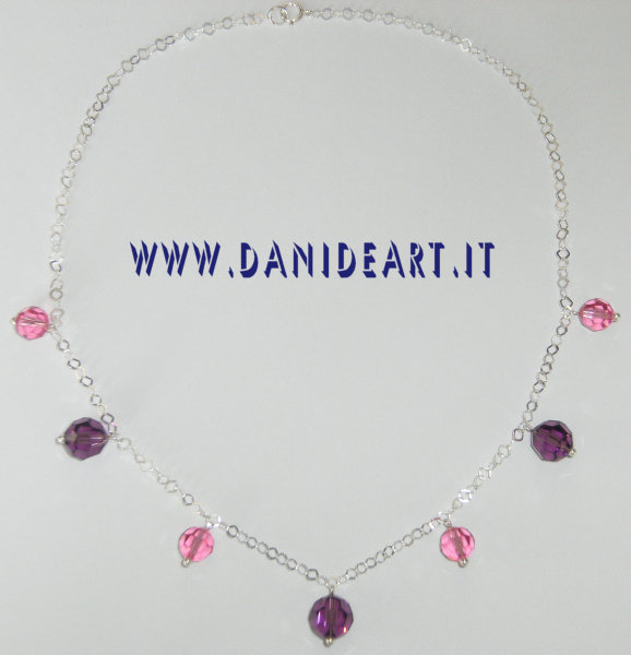 Collana Swarovski Fruits
