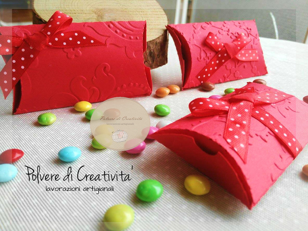 Scatoline Portaconfetti Handmade