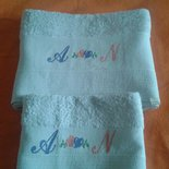 Asciugamani punto croce