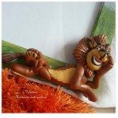 Cornice Alex il leone di Madagascar