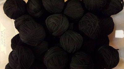 Stock 5 kg cotone nero in gomitolo (SPEDIZIONE GRATUITA)