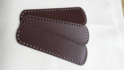 Fondo ovale marrone scuro 35