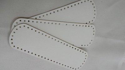 Fondo ovale bianco 44