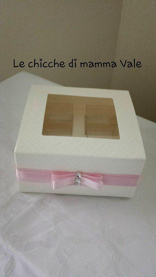 scatolina degustazione confetti Bomboniera