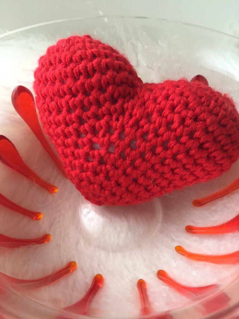 Tutorial: cuore amigurumi | Uncinetto amigurumi, Uncinetto ... | 1024x768