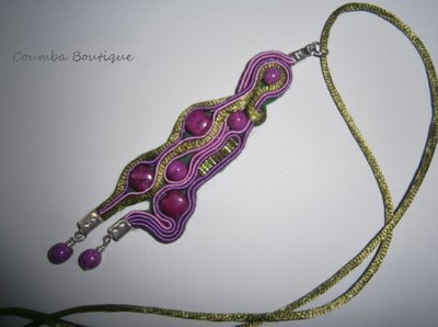 Collana Soutache Fantasia