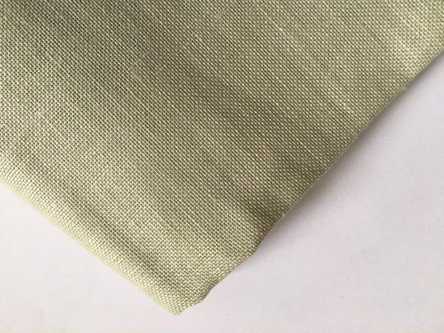 Taglio 140 x 100 cm Lino 13 fili Verde Waterlily - Permin of Copenhagen