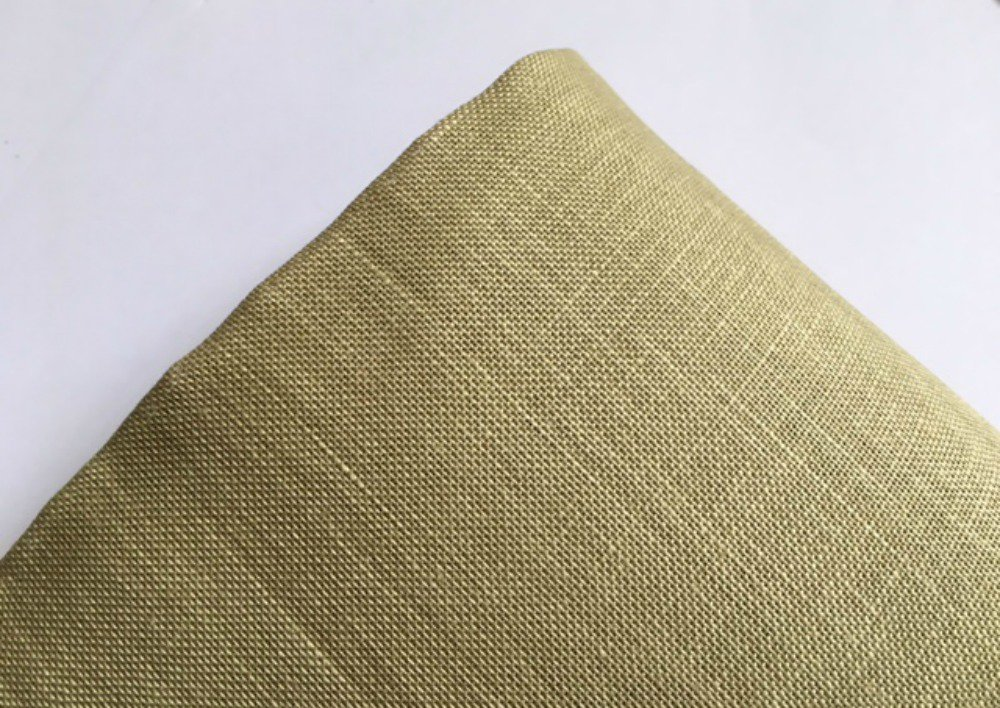 Lino 13 fili Permin of Copenhagen - Colore Verde Oliva - h 140 cm