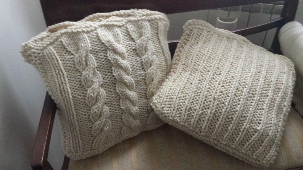 copri cuscino in lana - per la casa e per te - decorare casa - di