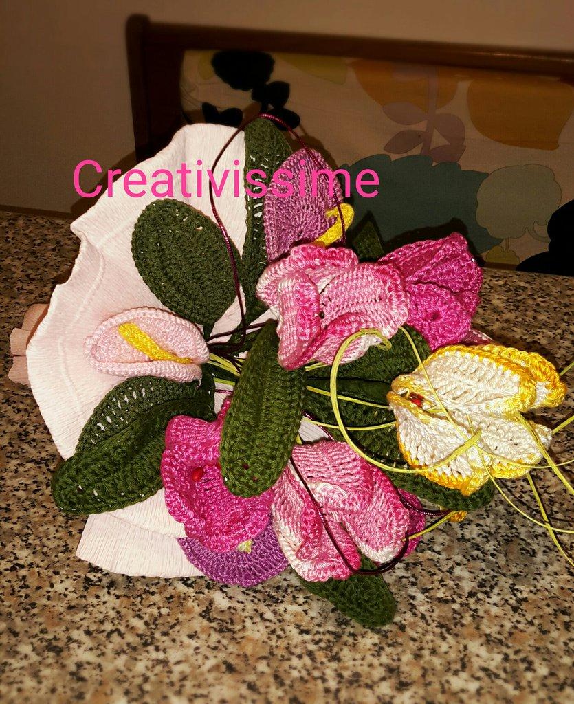INSERZIONE PRIVATA PAOLAS Bouquet di tulipani e calle