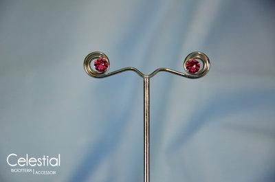 Orecchini Chaton - Rose