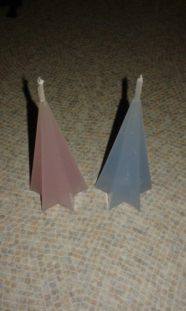 Piramidi di cera