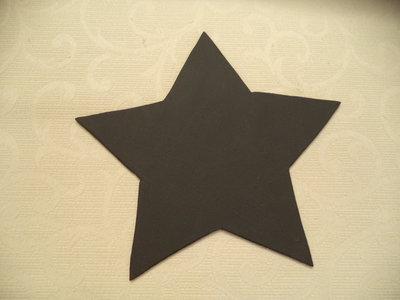 Lavagna shabby a forma di stella