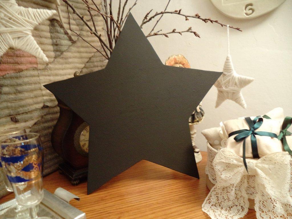 Lavagna Da Parete Cucina frigorifero lavagna. stella stellina lavagna da cucina