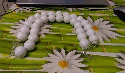 manici perle bianco