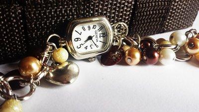 Orologio gioiello marrone