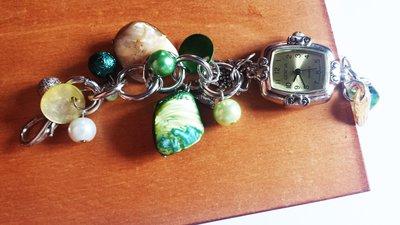 orologio gioiello verde