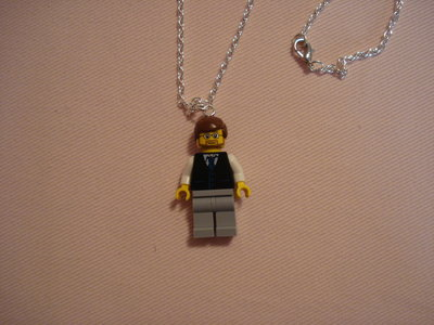 Collana con omino Lego