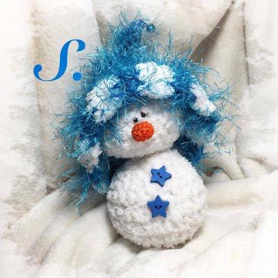 Schema pupazzi di neve amigurumi