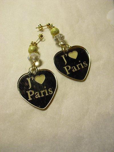 orecchini j'adore paris