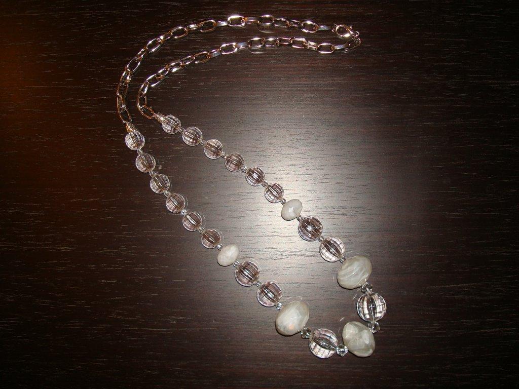 Collana di cristalli