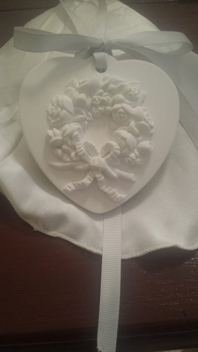 Blasone in polvere ceramica
