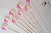 Spedini di caramelle decorati per caramellate animaletti Farfalle