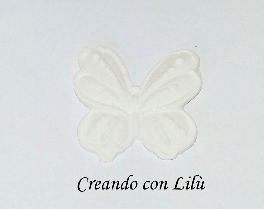 gesso profumato farfalla 5x4cm