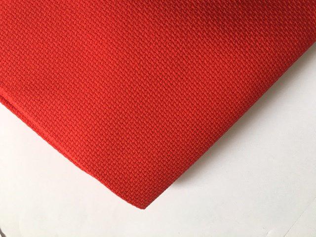 Tela Aida 55 quadretti  Permin of Copenhagen - Colore Rosso