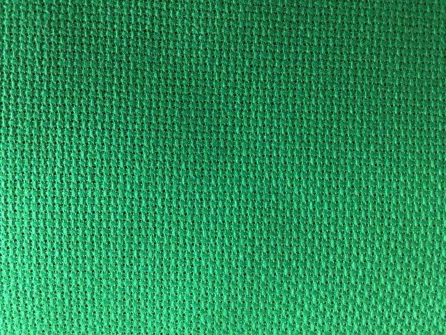 Tela Aida 72 quadretti  Permin of Copenhagen - Colore Verde Biliardo