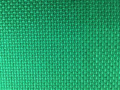 Tela Aida 72 quadretti  Permin of Copenhagen - Colore Verde Biliardo Scuro
