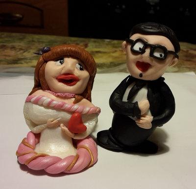 Utopia - Cake topper d'amore per matrimonio