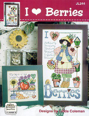I Love Berries - Schema Punto Croce - Jeremiah Junction