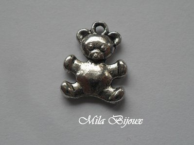 Charm Orsetto 16x13 mm