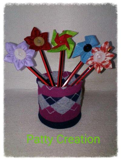 Girandole e fiori sulle matite