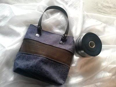 kit per borse in fettuccia parte centrale rete
