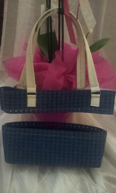 kit per borse in fettuccia parte alta più fondo alto