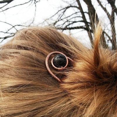 Accessori per capelli forcina chignon fermaglio per capelli lunghi forcella capelli forcina in rame