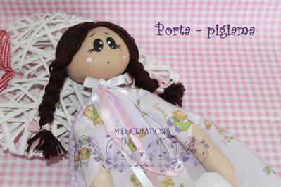 PORTA-PIGIAMA(fatta a mano)