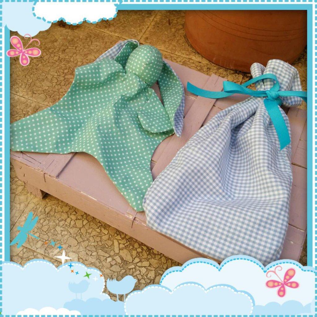 nanna/doudou pupazzo per neonati