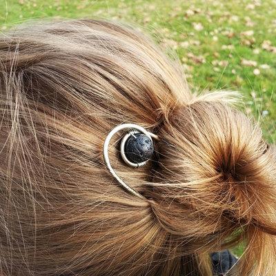 Accessori per capelli forcina chignon fermaglio per capelli lunghi forcella capelli forcina in alpacca argento nickel