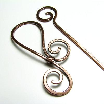 Accessori per capelli spilla per capelli a spirale spilla ...